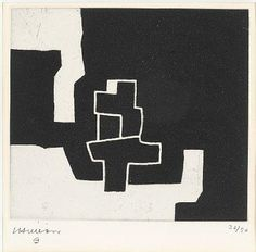 Eduardo Chillida - Composition, Etching