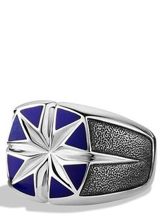 Maritime North Star Signet Ring