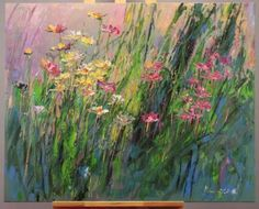 "Saatchi Art Artist Margaret Raven; Painting, ""Rainbow Picnic"" #art"