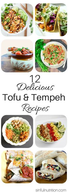 12 Delicious Tofu &