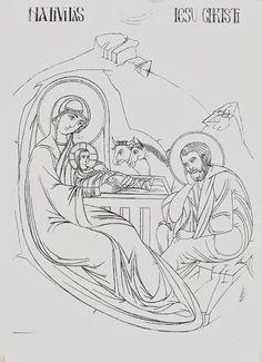 Byzantine Icons, Byzantine Art, Religious Icons, Religious Art, Sketch Design, Icon Design, Paint Icon, Christmas Icons, Name Art
