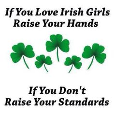 Irish girls!