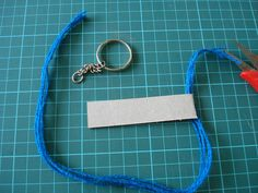 Tutorial : Woven keychains.