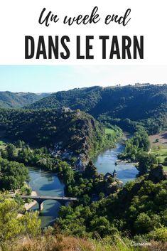 Si vous êtes en vacances dans le Tarn, ne manquez pas la jolie ville d'Albi !! Et puis allez prendre l'air à Ambialet, observer le méandre du Tarn en prenant de la hauteur. Terminez par un des plus beaux villages de France : Lautrec ! #weekend #tarn #albi #france #occitanie