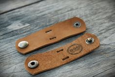 Handmade leather cable holderLeather Cord Cable by 896LeatherShop