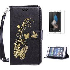 Yrisen 2in 1 Huawei P8 Lite Tasche Hülle Wallet Case Schu…
