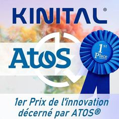 KINITAL ® sur Instagram: Un grand merci à la Société ATOS pour nous avoir décerné le 1er prix de sa onzième édition de son concours ATOS France. 1er Prix pour la… France, Instagram, Pageants, Thanks, Stone, French