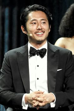 Steven Yeun at The Madison Square Garden NY S6 Premiere ♡ ♡ ♡ ♡ ♡
