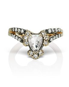 Modern Engagement Ring by Mania Mania