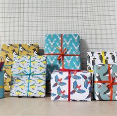 Mixed Gift Wrap Pack - a great pack that will cover all your gifting occasions! £10 #giftwrap #wrappingpaper #luxurygiftwrap #stationery
