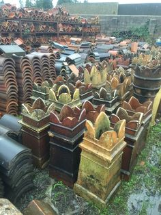 Victorian roofing materials