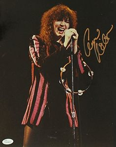 "ANN WILSON - ""Heart"" Hand Signed 11x14 - JSA COA - UACC R…"