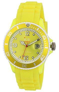Ice-Watch Unisex - Armbanduhr Ice Sunshine Analog Quarz Silikon SUN.NYW.U.S.13 - http://uhr.haus/ice-watch/ice-watch-unisex-armbanduhr-ice-sunshine-analog-u-3