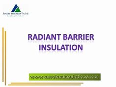 Radiant Barrier Insulation Specifications | Characteristics and other details