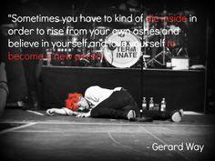 gerard way # gerard # quote # my chemical romance