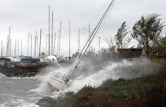 """9.28.14 - Offshore Wind Turbines Could Tame Hurricanes - """"if you take away enough wind speed and reduce the height of the waves, you will break the feedback loop that makes hurricanes more powerful.""""  In addition to storm protection, turbines produce energy and would pay for themselves over 20-30 years, other protective mechanism like seawalls do NOT generate revenue or reduce wind speeds."""