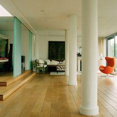 Open-plan living area | See inside a modern Dutch home | housetohome.co.uk