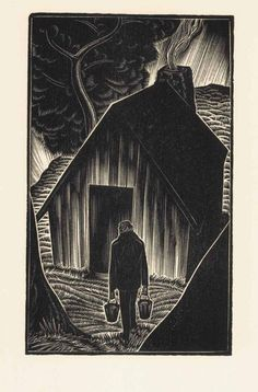 Lynd Ward woodcut Lynd Kendall Ward (June 1905 – June was an American artist and storyteller, known for his series of wordless novels using wood engraving, Art And Illustration, Gravure Illustration, Illustrations, Norman Rockwell, Rockwell Kent, Linocut Prints, Art Prints, Block Prints, Gravure Photo