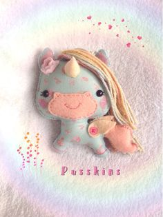 Meet Spring Blossom, the Pegasus unicorn!  Unsurprisingly, Spring Blossoms favourite time of year is spring, when she will usually be found