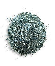 1 oz German Glass Glitter in Blue Sky ~ Fine Grit