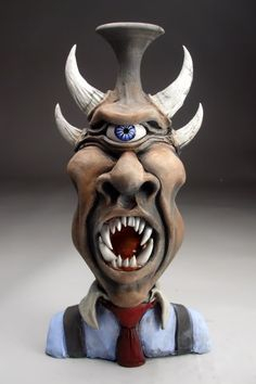 Mitchell Grafton - Cyclops Ceramic Sculpture