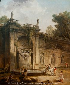 Hubert Robert fountain