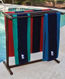 Pool Towel Drying Rack Delectable How To Build A Pvc Pool Towel Rack  Pinterest  Pvc Pool Pool Inspiration