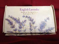 Vintage ENGLISH LAVENDER Hand Soap Set 3 Sandringham, Norfolk, England Windsor #TheRoyalCollection #WindsorCastle #EnglishLavender #Lavender #EnglishLavenderSoap #Soap