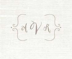 Custom Wood handled Rubber Stamp Calligraphy by simpleANDpretty