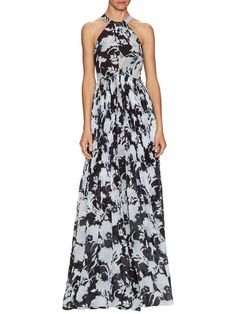 Cross Front Halter Gown by Thakoon at Gilt