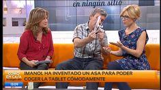 Vídeo de inventos vascos asa para tablet líquido antideslizante bañera. Imanol Murua inventor Astigarraga presenta sus inventos. Vídeo de Como En... Tablets, Videos, Wings, Inventors, Video Clip