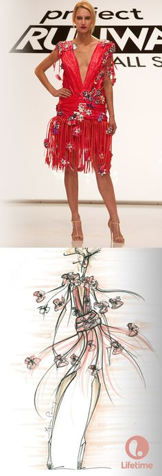 We love this sketch from Project Runway All Stars almost as much as we love the design.