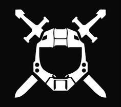 New Custom Screen Printed T-shirt Halo Symbol Game Small - 4XL F