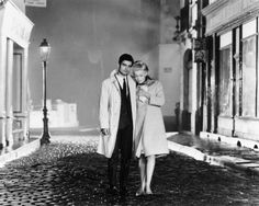 Nino Castelnuovo and Catherine Deneuve in Jacques Demy's The Umbrellas of Cherbourg (1964).