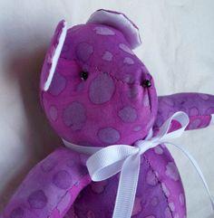 Tatiana the Little Teddy Bear by ellemardesigns on Etsy, $10.00