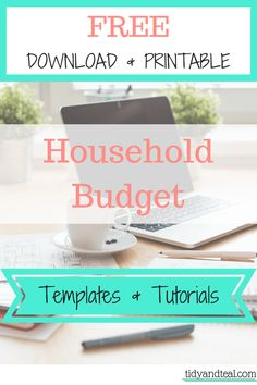 Free Household Budget