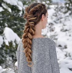 How To Get A Thick Bohemian Braid