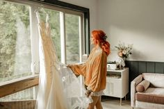 A warm color palette of deep red, vibrant orange and cream paired with rustic décor set the mood for this boho-luxe styled shoot at a luxe barn in Eatonton, Georgia   Bustld   Vetted Wedding Vendors Picked For You   #bustld #wedding #weddinginspo #alternativewedding #fallwedding #weddingmorning #bride #bridestyle #bridedetails Warm Colour Palette, Warm Colors, Red Orange Hair, Wedding Morning, Fall Floral Arrangements, Perfect Planner, Beautiful Farm, Alternative Wedding