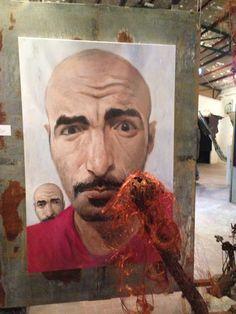 Andrea Grosso Ciponte è uno degli artisti in mostra a Concentrica, sino al 5 gennaio 2015 a Catanzaro.