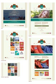 """GRAPHIC DESIGN. """"Portfolio Website"""" by Josie Degler. University of Louisville. Instructor: Brian Faust."""