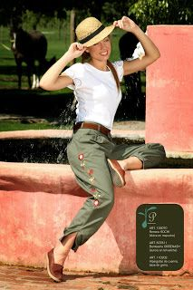 bombacha de campo argentina, trousers for countryside Patagonico.