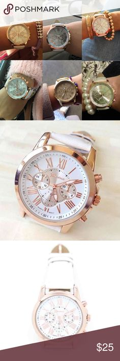 Brand New Women Wristwatch Women Fashion Retro Leather Bracelet Wristwatch. Color: White. Brand New In Package. Accessories Watches