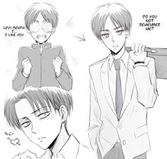 """Eren x Levi ♡ Ereri / Riren 