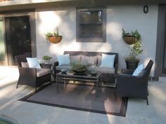 Patio contemporary porch
