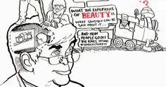 """TED arbeitet zusammen mit dem Trickzeichner Andrew Park, um Dennis Dutton's provokante Theorie der Schönheit zu illustrieren -- laut der Kunst, Musik und die Schönheit anderer Dinge nicht nur """"im Auge des Betrachters"""" liegen, sondern ein grundsätzlicher Bestandteil der menschlichen Natur sind, mit tief in der Evolution verankerten Wurzeln."""