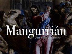 Insultos: mangurrián