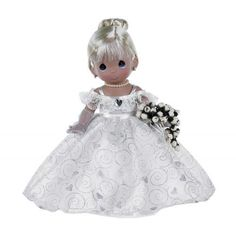 Precious Moments Loving, Caring & Sharing For 35 Years - Anniversary Doll Space Theme Preschool, Wedding Doll, Precious Moments Figurines, 35th Anniversary, Vinyl Dolls, Unique Gifts, Flower Girl Dresses, In This Moment, Holiday Decor