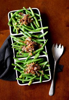 Rikki Snyder Photography | Blog | Green Beans & Caramelized Shallots