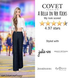 A Bella in Her Kicks @covetfashion #covet #covetfashion #covetfashionapp #fashion #covetfall2015 #fall2015 #womensfashion #abellainherkicks #jeans #shoesofprey #jbrand #zimmermann #ashleypittman #julievos #dovesbydoronpaloma