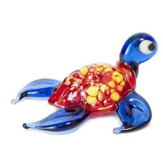 Red Glass Sea Turtle is a hand-blown glass figurine which is made by the Russian artist in. http://russian-crafts.com/glass-figurines/glass-reptiles/red-glass-sea-turtle.html